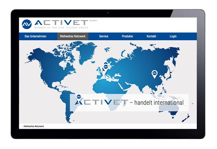 webdesign responsive cms seo activet