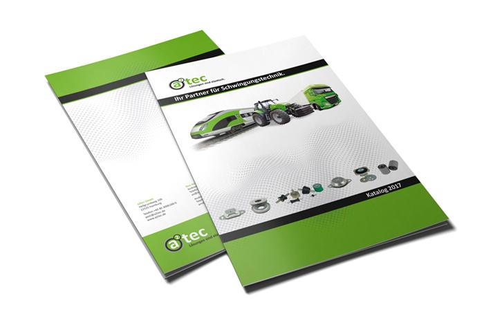 Katalog Titel a2tec Schwingungstechnik