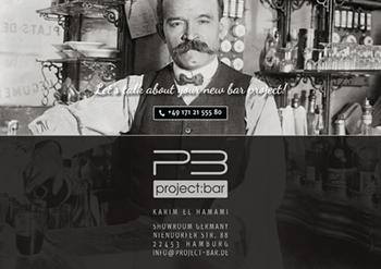 Magazin, Broschüre project:bar Rückseite