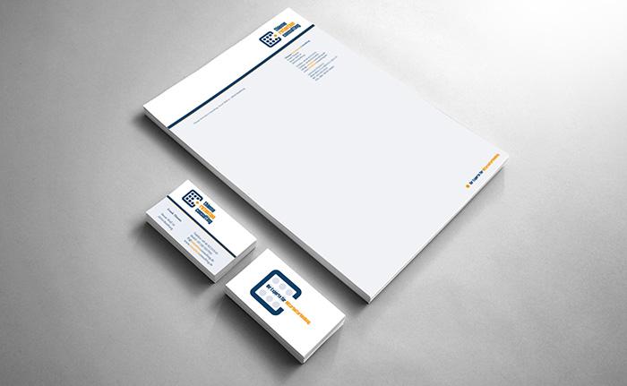 visitenkarten, briefbogen, thieme retention consulting