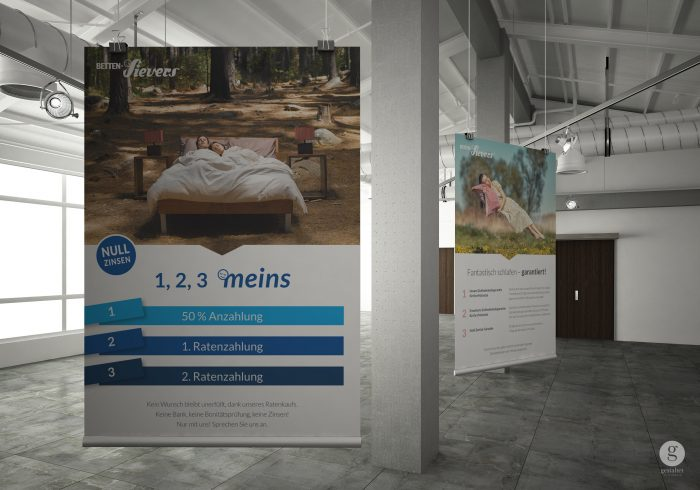 POS Marketing, Design von Schildern und Displays