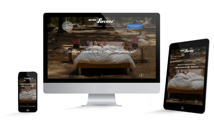 Responsive Webdesign Hamburg Betten-Sievers