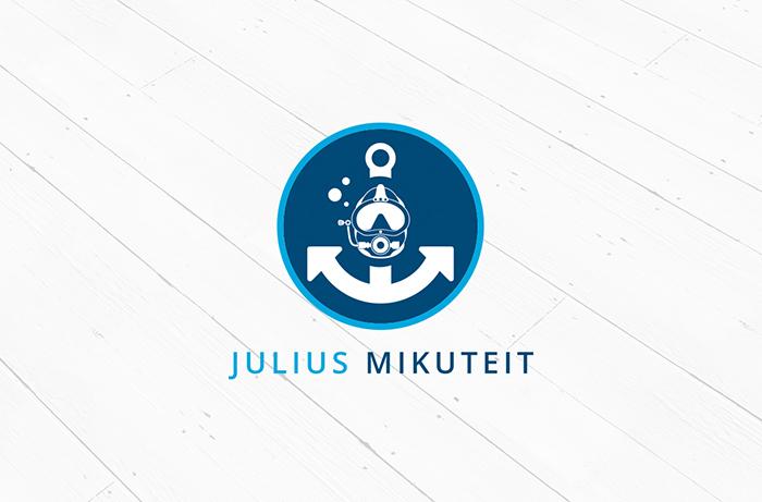 Logodesign Berufstaucher