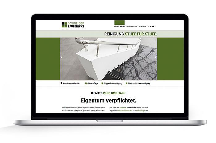 Webdesign Schreiber Hausmeisterservice