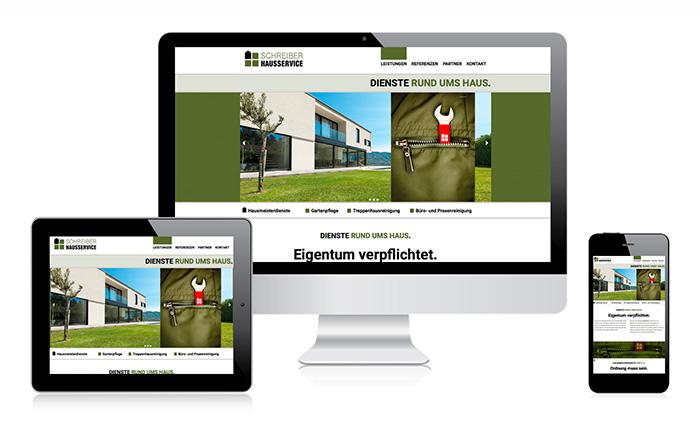 Webdesign Schreiber Hausservice
