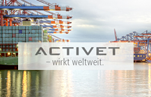 Logodesign, Webdesign, CD<br>Activet GmbH</br>