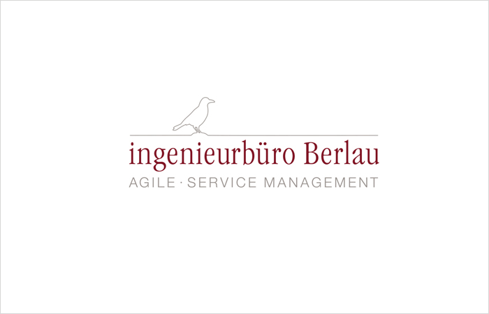 Logodesign Ingenieurbüro Berlau