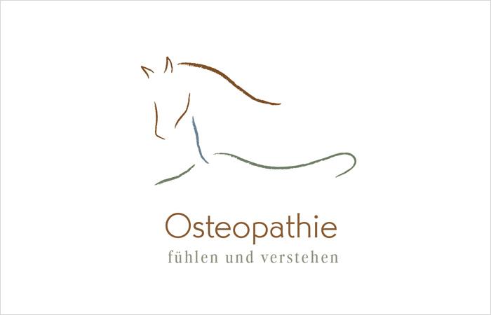 Logo Design Pferdeosteopathie
