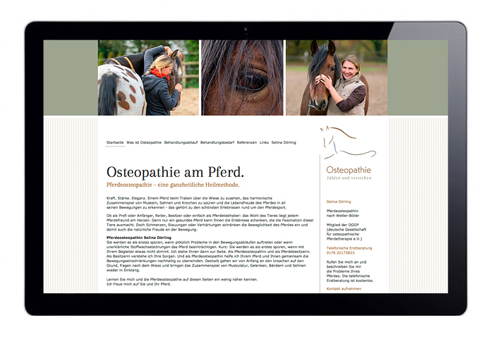 webdesign grafik design pferdeosteopathie