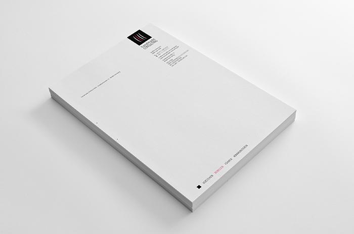 Briefbogen, Grafik Design, handmade Consulting