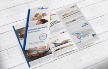 Flyer und Faltblätter im Corporate Design
