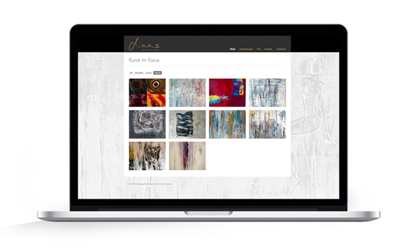Webdesign Malerin Natascha Maas