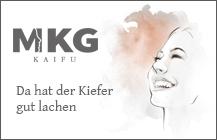Logodesign, Webdesign, CD<br>MKG KAIFU Praxisklinik</br>
