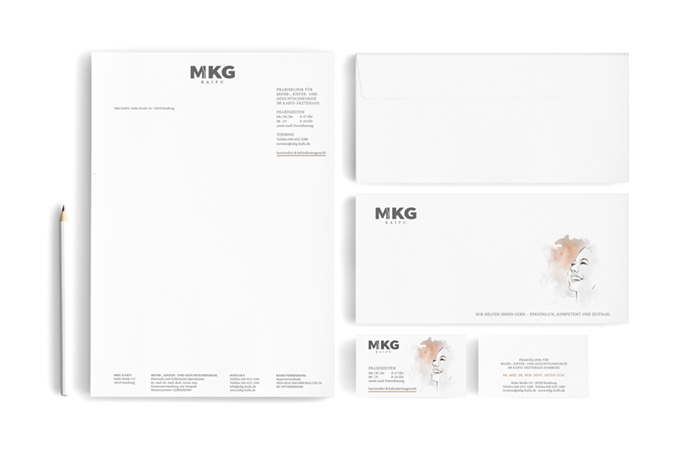 Corporate Design Hamburg MKG Kaifu