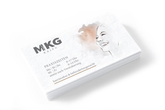 Visitenkarte Design Hamburg MKG KAIFU