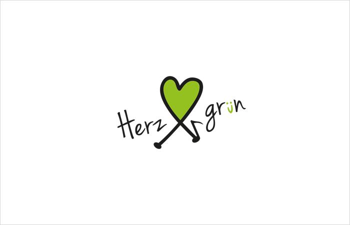 Logodesign Herzgruen Musikproduktion