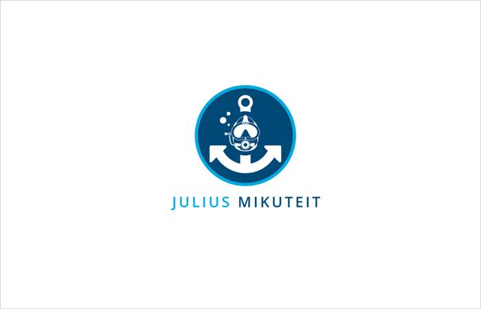 Logodesign Berufstaucher, Corporate Design, Hamburg