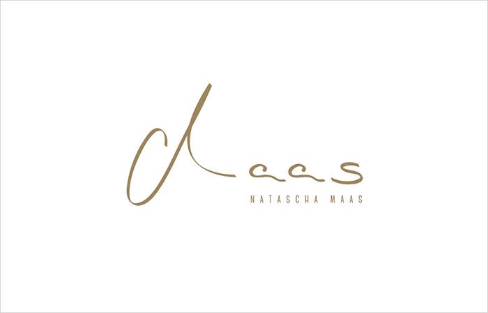 Logodesign der Künstlerin, Malerin Natascha Maas