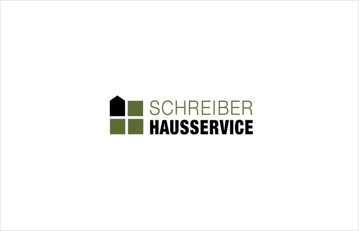 Logodesign, Logoentwicklung Hausmeisterservice Schreiber