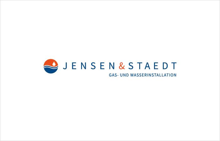 Logodesign Jensen & Staedt Gas- und Wasserinstallation