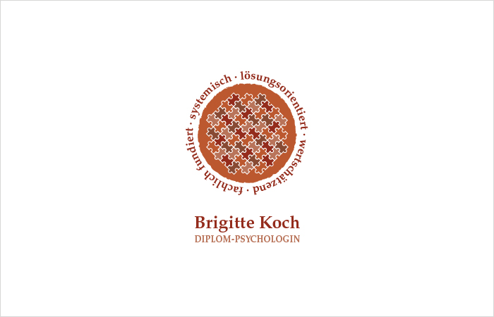 Logodesign Diplom Psychologin Brigitte Koch