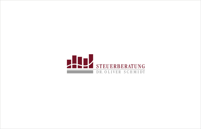 Logodesign Steuerberatung Dr. Oliver Schmidt