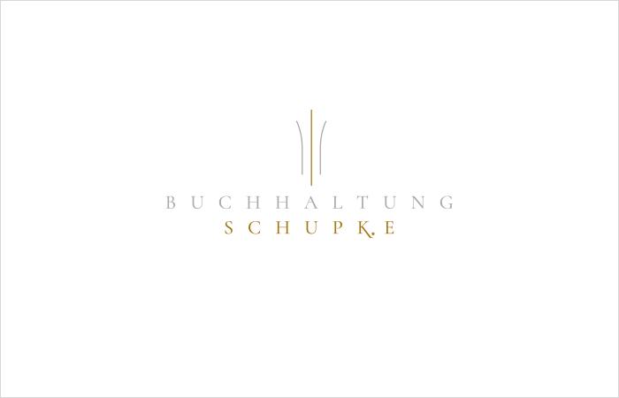 Logodesign Buchhaltung Schupke, Hamburg