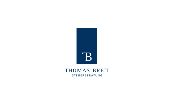 Logodesign Steuerberatung Thomas Breit