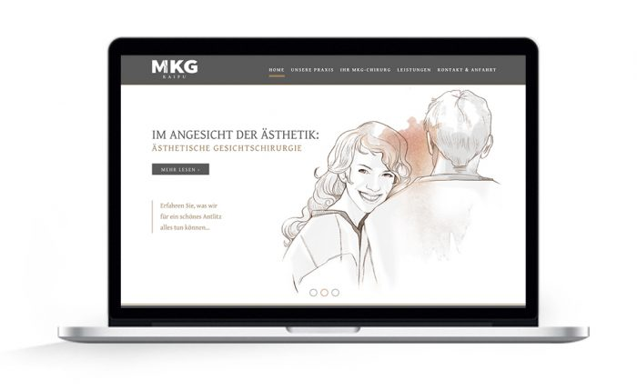 Webdesign Hamburg MKG Kaifu Praxisklinik