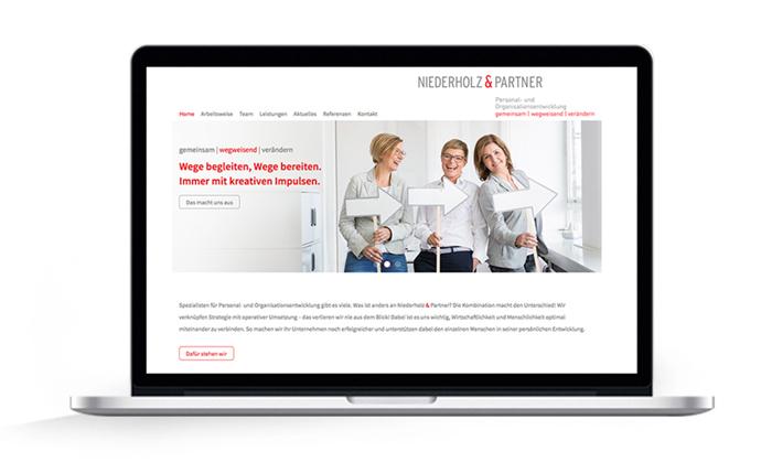 Webdesign Hamburg, Niederholz und Partner.