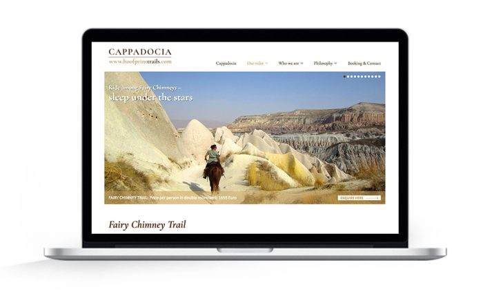 Webdesign Hamburg Cappadocia Fairy Chimney Trail