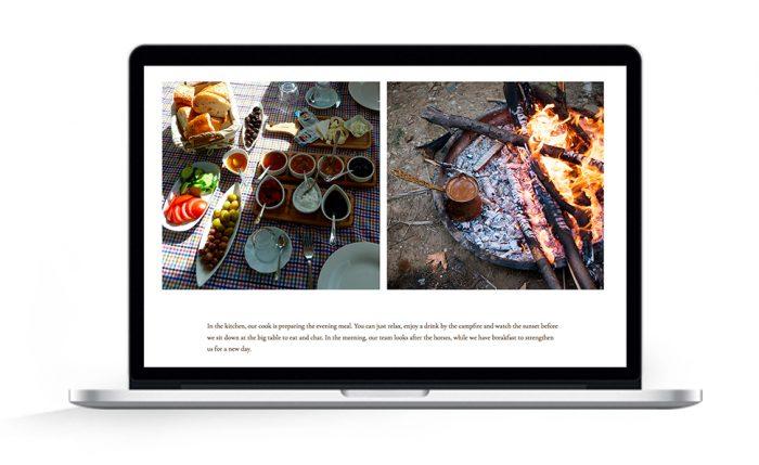 Webdesign Hamburg Cappadocia hoofprinttrails