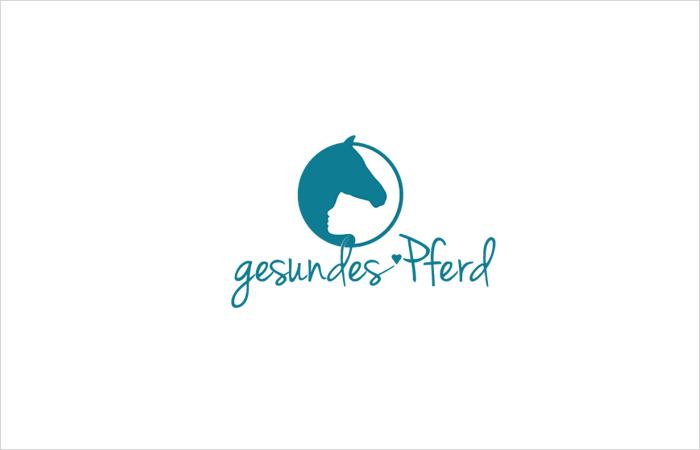 Logodesign gesundes Pferd