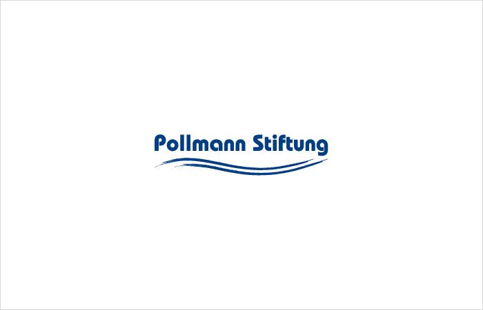 Logodesign gestaltet in Hamburg, Pollmann Stiftung