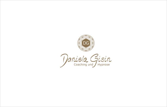 Logodesign Hamburg: Daniela Gisin Hypnose und Coaching