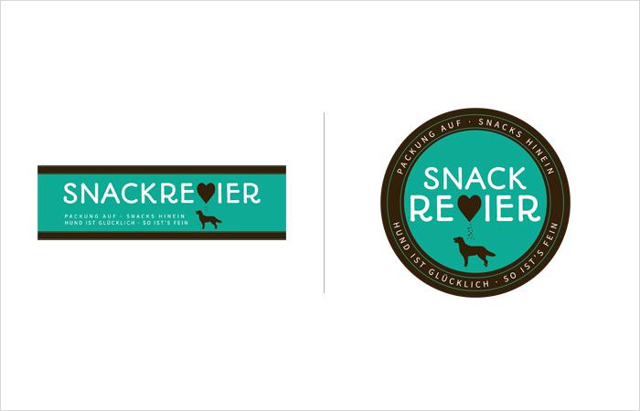 Logodesign Hamburg: Snackrevier Hunde