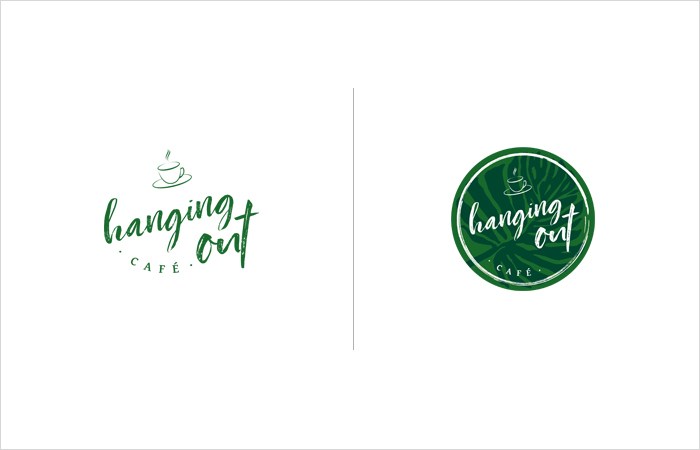 Logodesign Hamburg: Hanging Out Café