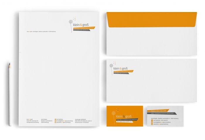 Corporate Design klein und groß