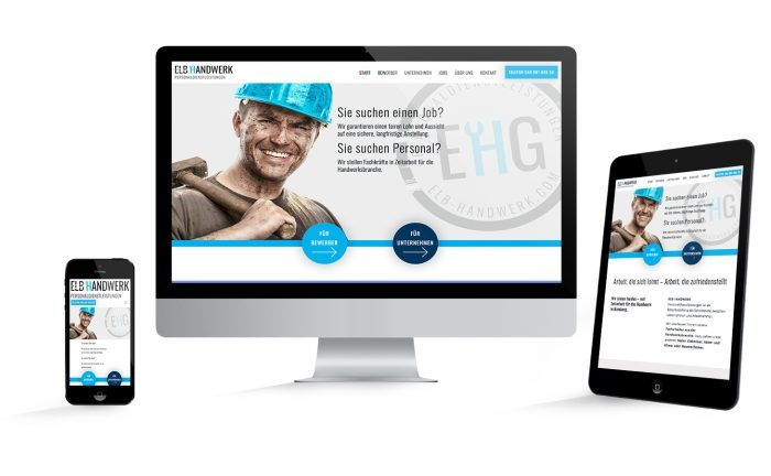 Webdesign EHG Elb Handwerk GmbH