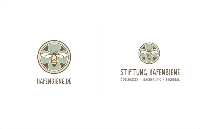 logodesign-hamburg-hafenbiene