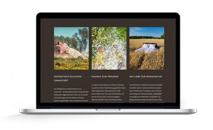 Webdesign Hamburg Betten-Sievers