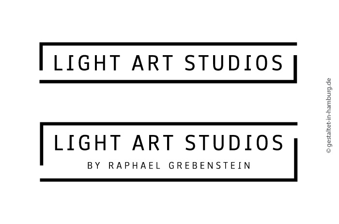Logodesign Hamburg für Light Art Studios