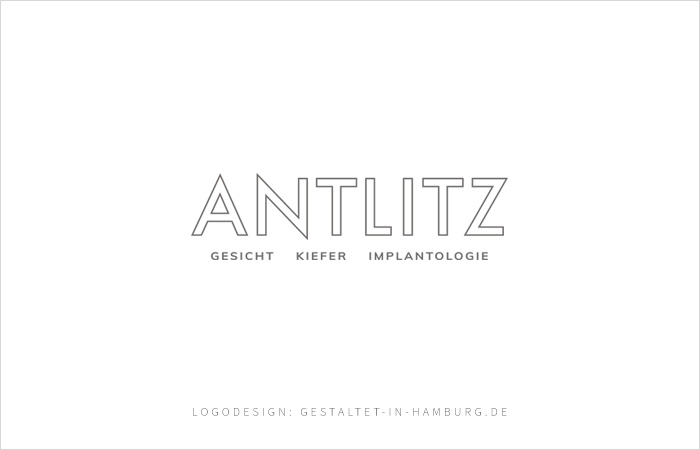 Logodesign Antlitz Berlin, Gesicht Kiefer Implantologie