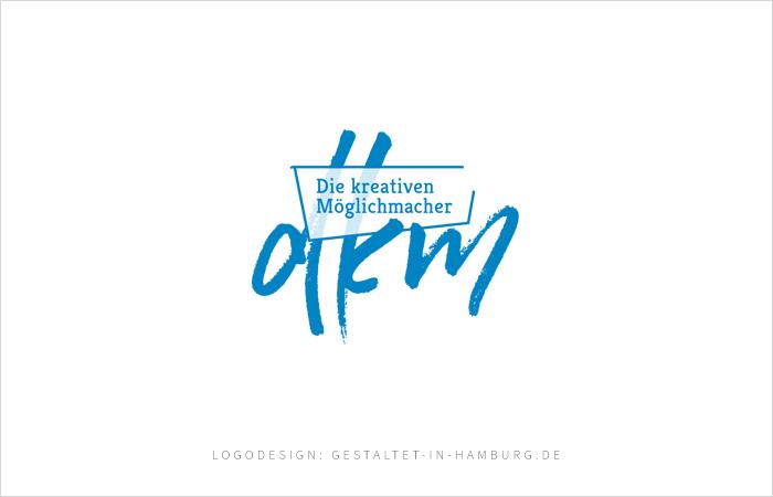 """Logodesign dkm """"Die kreativen Möglichmacher"""""""