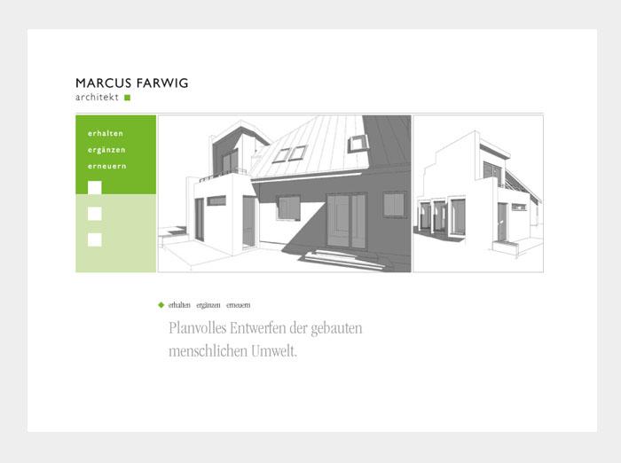 Broschüre Marcus Farwig Architekt Hamburg
