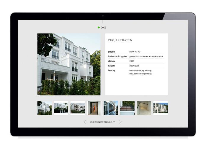Webdesign Projektdetails Wohnen, Marcus Farwig, Architekt