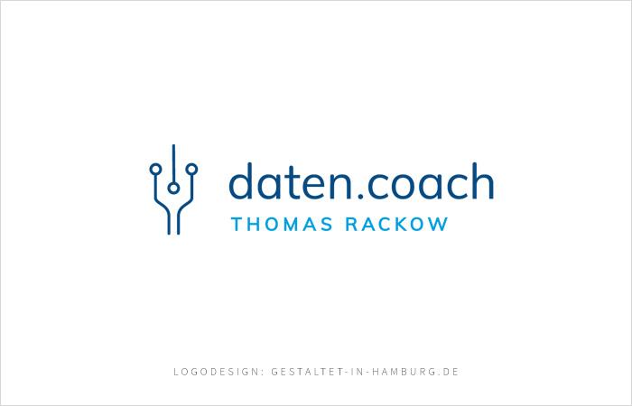 Logodesign Hamburg Datencoach Thomas Rackow
