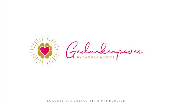 Logodesign Hamburg für Gedankenpower Lifecoaching