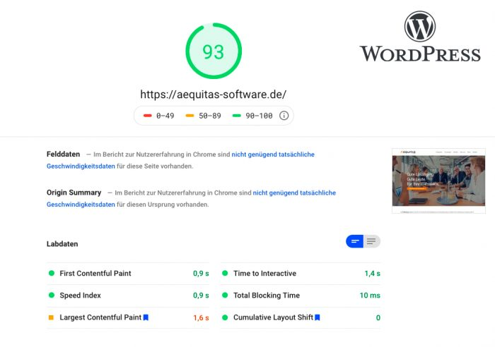 pagespeed-wordpress-beispiel-aequitas-software